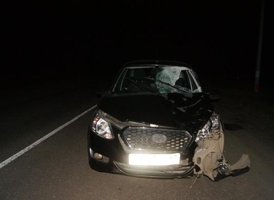 ВМилославском районе «Датсун» насмерть сбил женщину