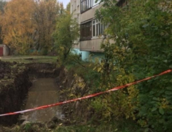 Из-за аварии надороге 22 дома вДашково-Песочне остались без воды