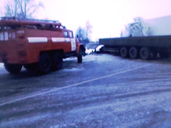 Близ Шилово столкнулись два фургона, пострадал человек