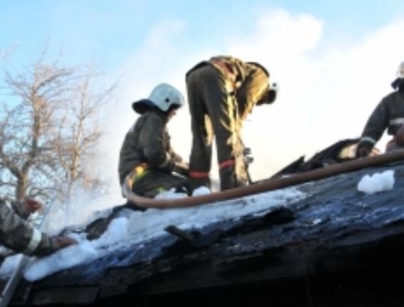 ВРяжске впроцессе пожара пострадали люди