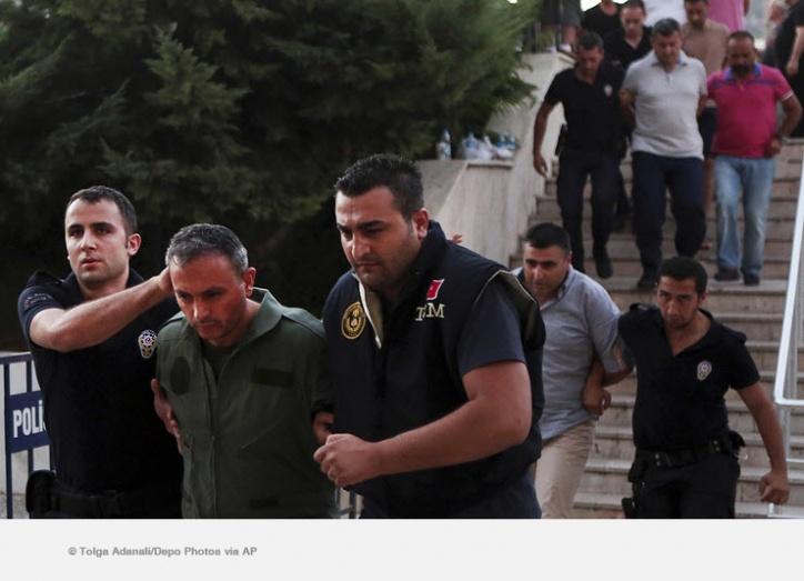 ВТурции задержаны 12 генералов иадмирал