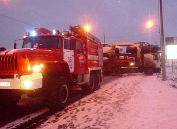 Натрассе М5 под Рязанью вДТП с фургоном пострадал шофёр легковушки