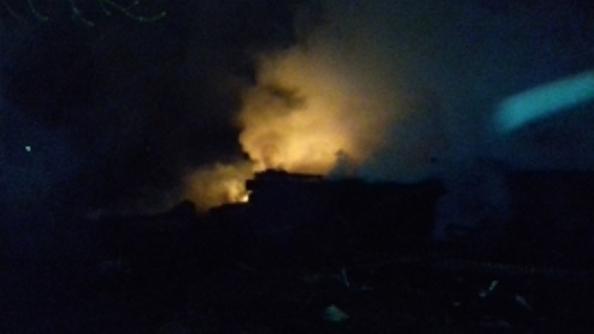 Предпосылкой пожара наОшском рынке мог стать поджог