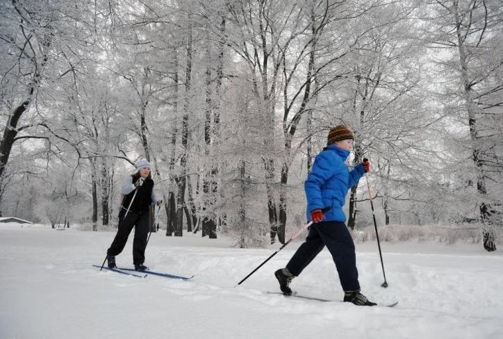 ВРязани обустроили 4  лыжные дороги